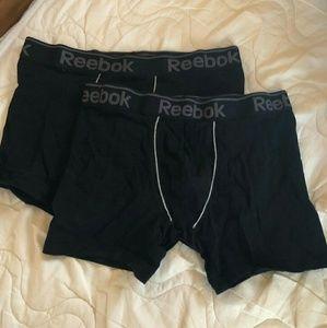 Reebok black boxer briefs bundle!